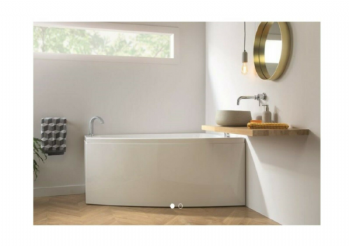 Carron Clipper Offset 1575 x 1200mm Corner Bath LH or RH